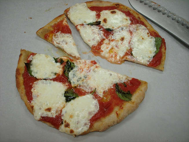 pizza margherita using wild yeast pizza dough pizzagoon pizza blog